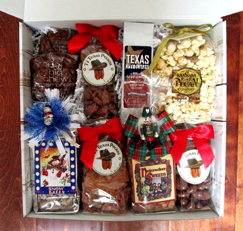 Happy Holidays Snack Gift Box   Great Client or Family Gift