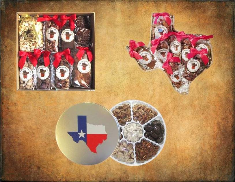 TJ Texas Pecans Gift Baskets