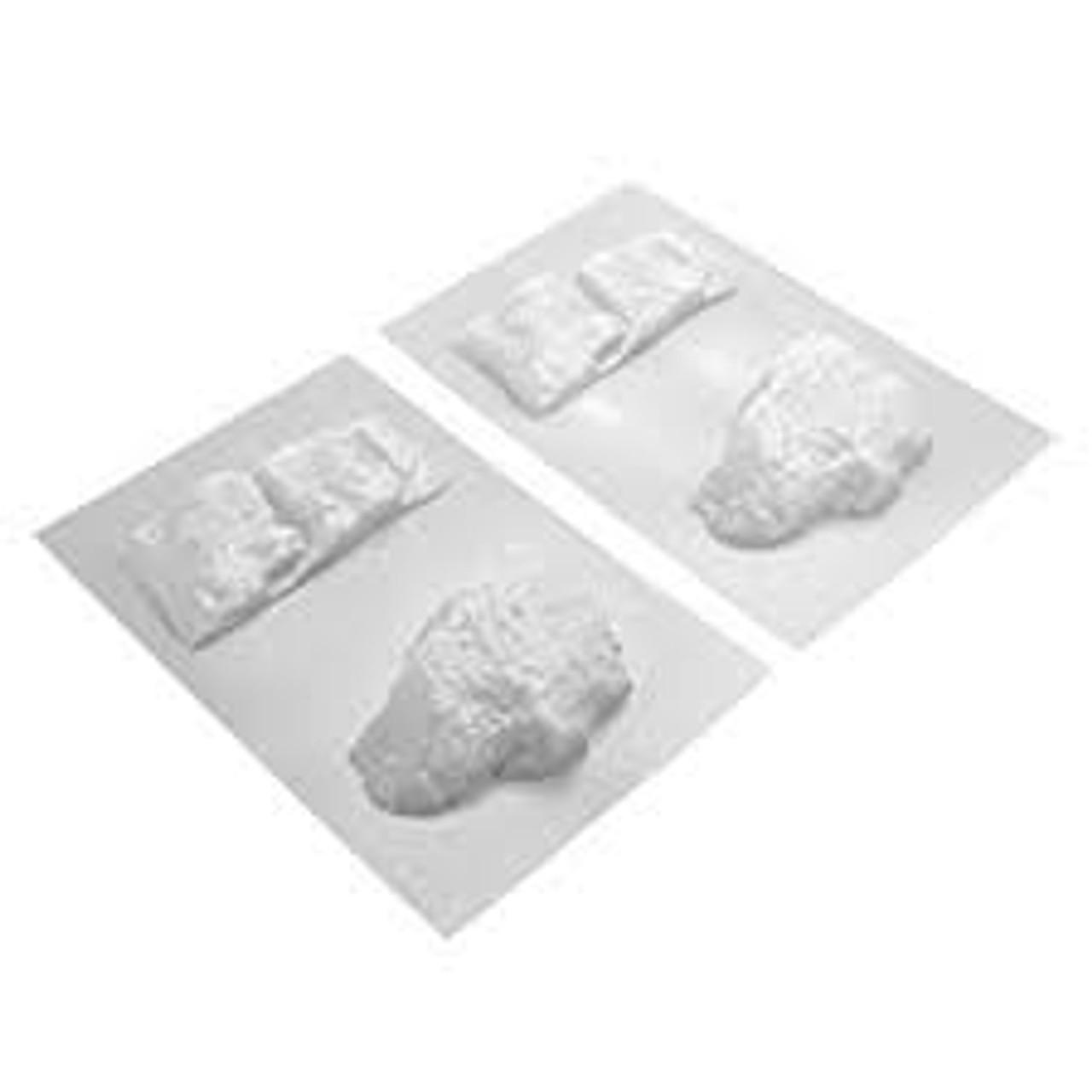 2//pk 97470 JTT Scenery Products All-Scale Outcroppings Plastic Pattern Sheet