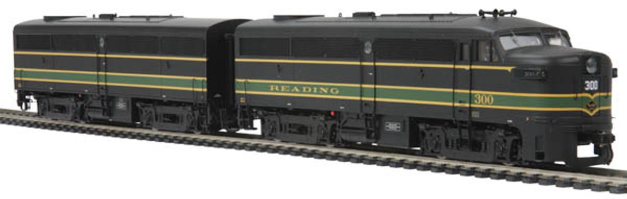 Mth Trains 80 2095 0 Ho Reading Alco Fa 1 Ab Set