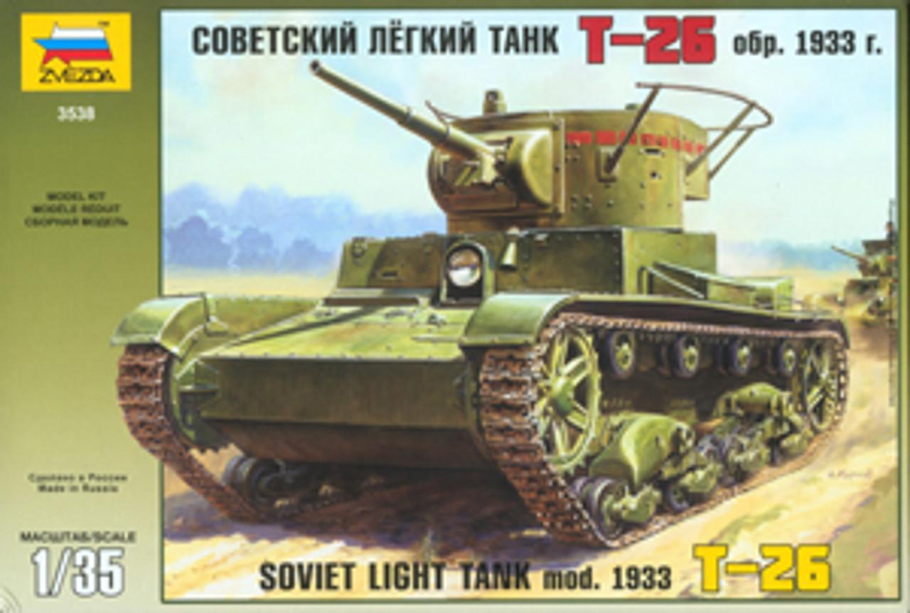Zvezda 3534-1//35 WWII Soviet Tank Destroyer Isu-122 Neu