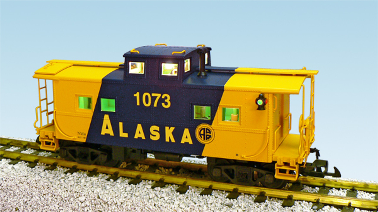 USA Trains R12151 Alaska Center Cupola Caboose G Gauge