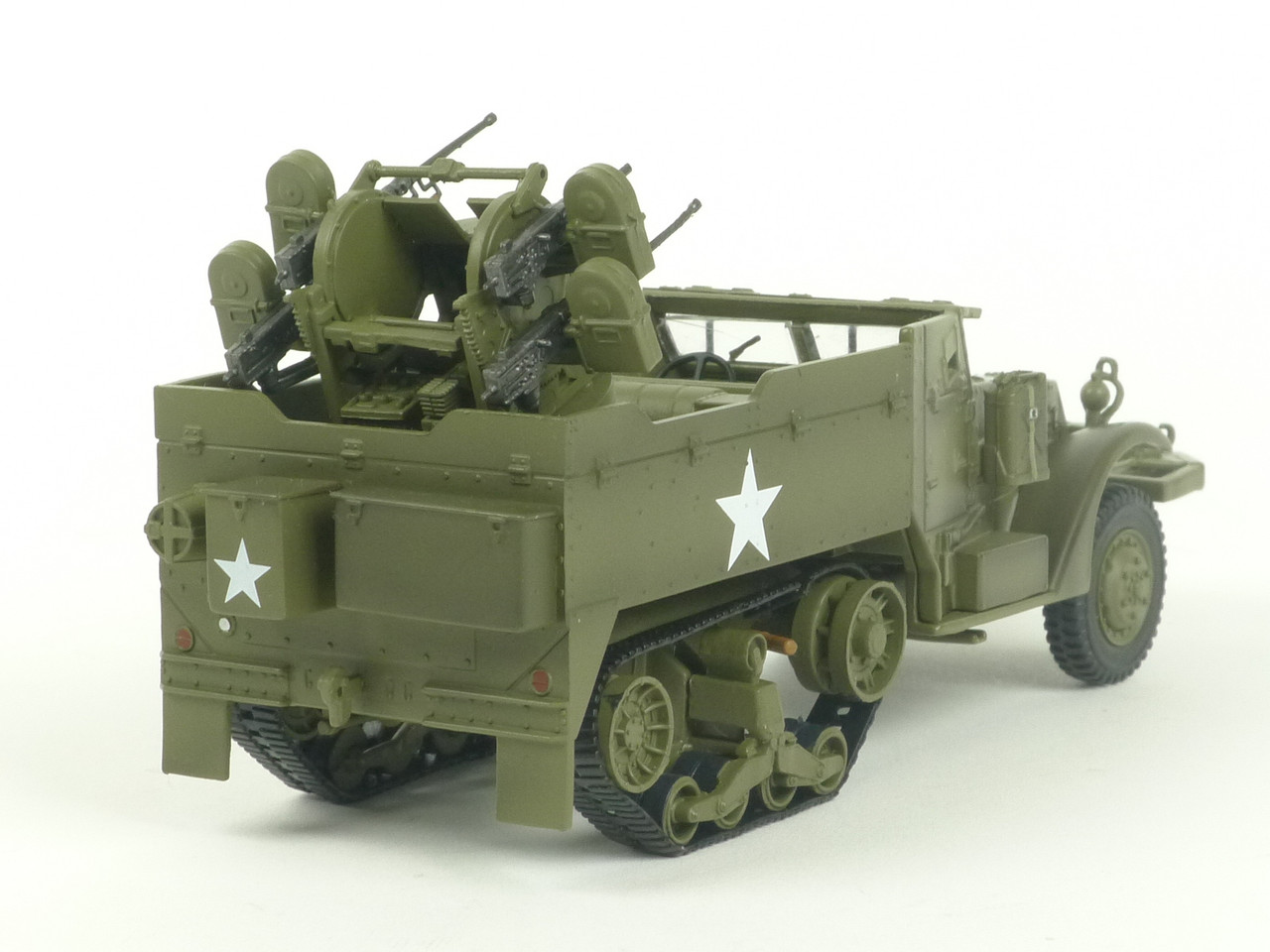 MTH 20-95327A US Army M16 Halftrack O Scale Train Load 1/43 Scale