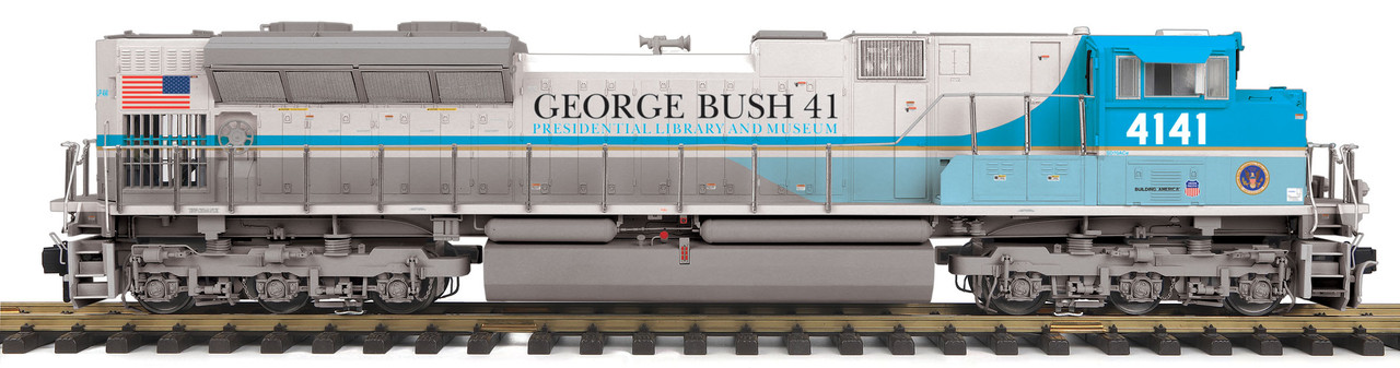 MTH Trains 70-2133-1 George Bush G Gauge Railking One Gauge SD70ACe Diesel  Engine with Proto-Sound 3 0