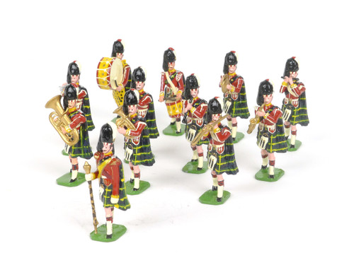 Ducal Models 186 Gordon Highlanders 1905 Toy Soldiers Marching Band