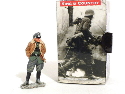 King & Country Toy Soldiers World War II German Officer Standing