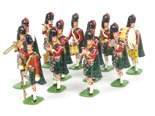 Ducal Traditional Military Figures 166 Argyll & Sutherland Highlanders Marching Band