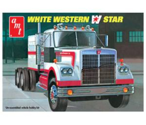 AMT 724 White Western Star 1/25