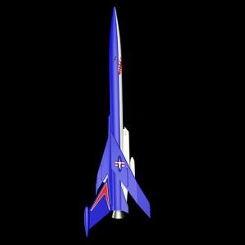 Estes 7230 Conquest Rocket sk5