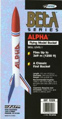 Estes Models 1225 Alpha Rocket sk1