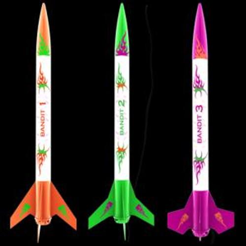 Estes 2435 3 Bandits Rockets E2X