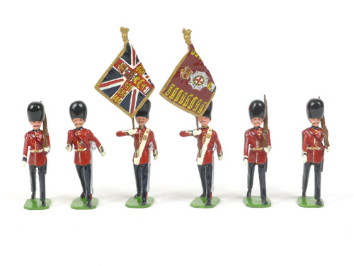 Ducal Military Figures Set 88 Coldstream Guards Colour Party