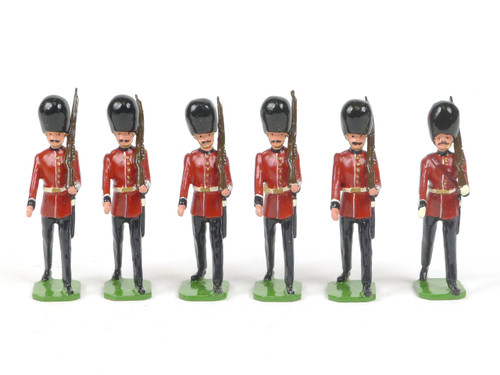 Ducal Military Figures Set 87B Coldstream Guards Marching with Sergeant