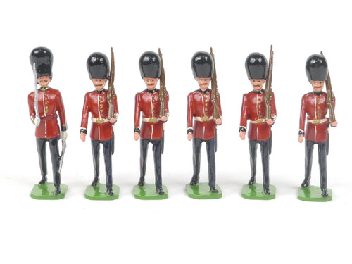 Ducal Traditional Military Figures Set 107A Scots Guards Marching with Officers