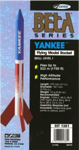 Estes models 1381 Yankee Rocket sk1
