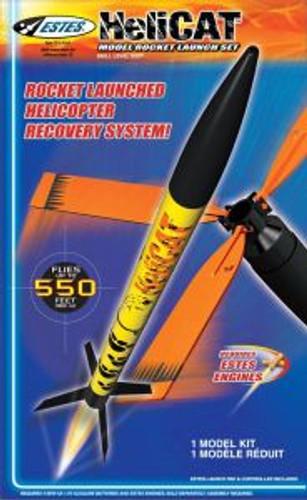 Estes models 1465 HeliCat Launch Set E2X