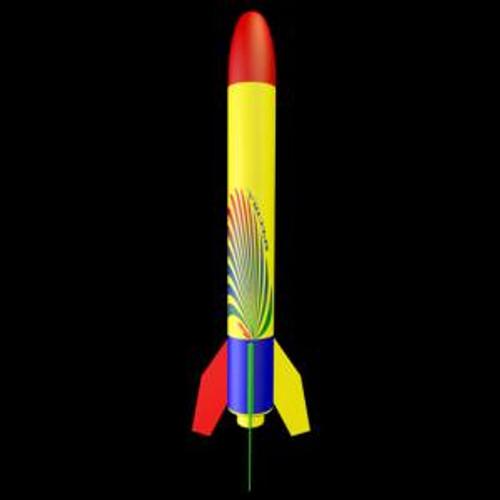 Estes models 2493 Spectra Rockets 2 piece ARF
