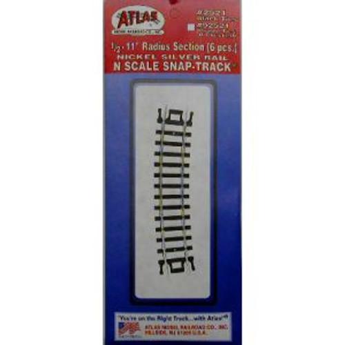 Atlas 2521 N Code 80 1/2 11 Radius 6 pack