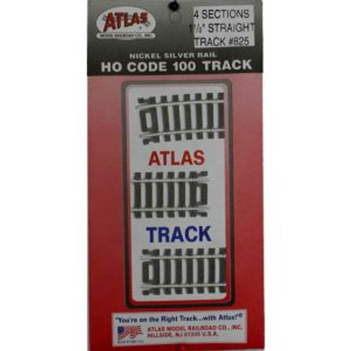 Atlas 825 HO Code 100 1-1/2 Straight 4 pack