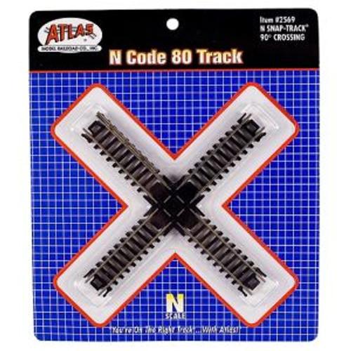 Atlas 2569 N Scale Code 80 90* Crossing