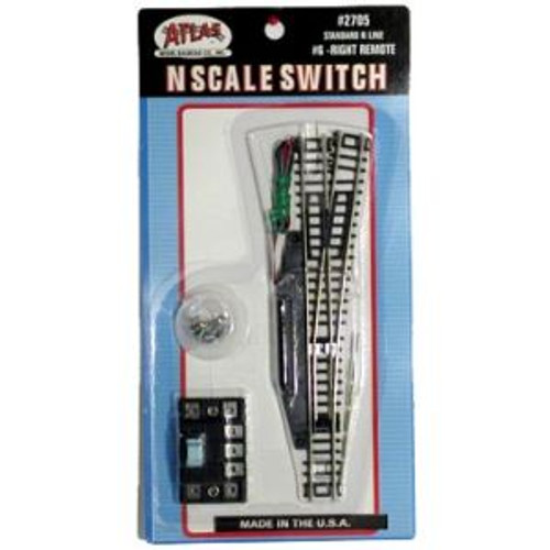 Atlas 2705 N Code 80 #6 Right Remote Switch