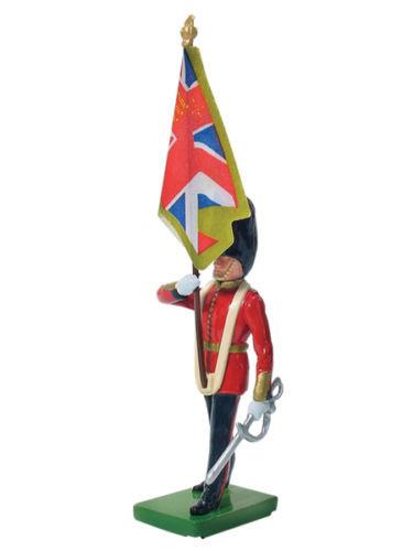William Britain Scots Guard Colour Bearer Regimental Colour Toy Soldier