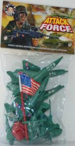 Billy V 41060 US Attack Force Set /Assorted Colors