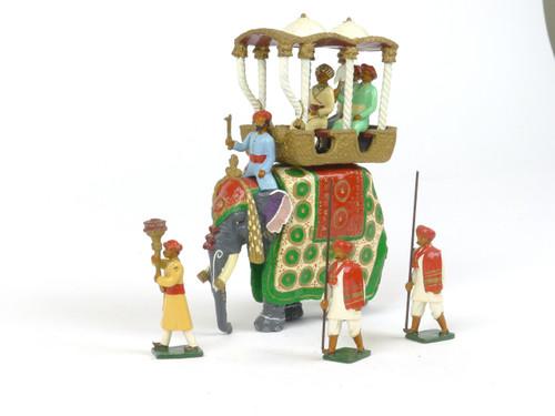 Marlborough Collectors Models D1 Maharajah of Baroda State Elephant Delhi Durbar