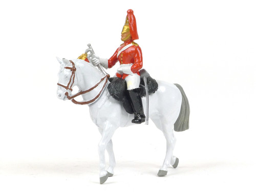 Britains Metal Models 7247 Lifeguard Trumpeter Mounted