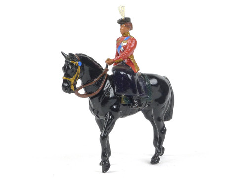 Britains Metal Models 7232 Her Majesty Queen Elizabeth Mounted