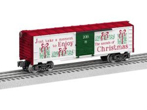 Lionel 1928500 O 2019 Christmas Music Boxcar
