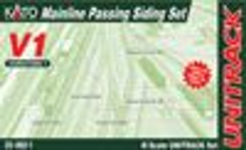 Kato 208601 N V1 Mainline Passing Siding Set