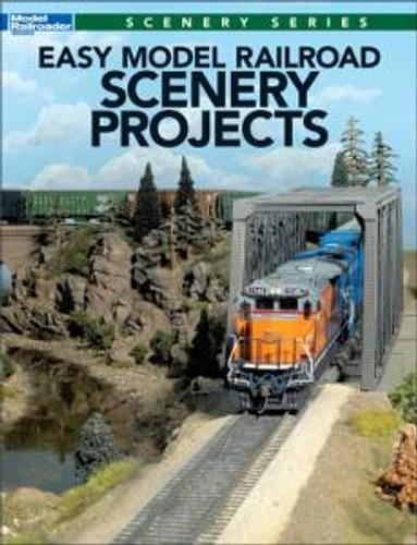 Kalmbach 12499 Easy Model Railroad Scenery Projects