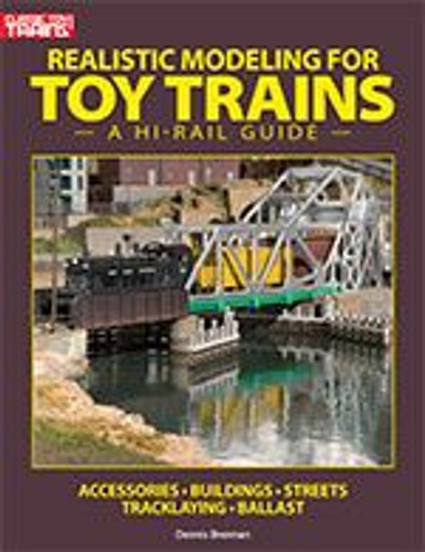 Kalmbach 108390 Realistic Modeling for Toy Trains