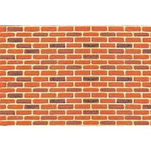 JTT 97422 Pattern Sheets/Brick HO (1:100) 2 pack