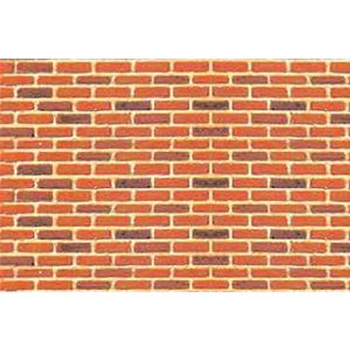 JTT 97422 Pattern Sheets/Brick HO (1:100) 2 pack