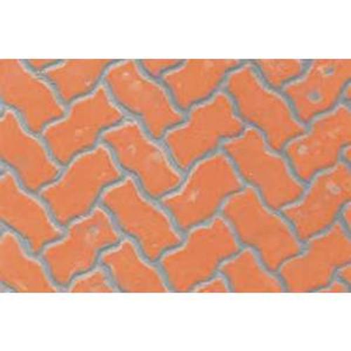 JTT 97432 Pattern Sheets/Interlocking Paving G (1:24) 2 pack