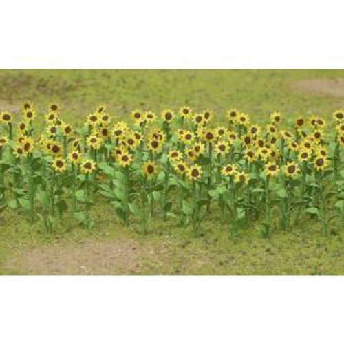 JTT 95523 HO Sunflowers 1'' 16 pack