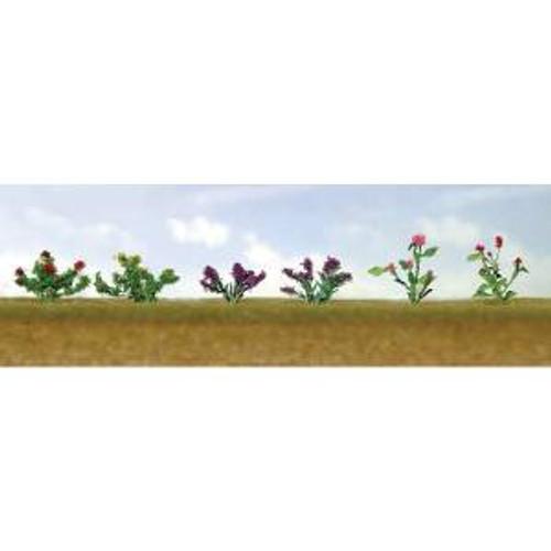 JTT 95557 HO Flower Plants Assortment #1 12 pack