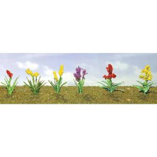 JTT 95560 O Flower Plants Assortment #2 10 pack