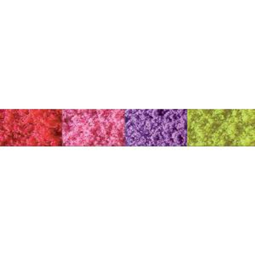 JTT Scenery Products 95145 Turf/Red Pink Purple Yellow-Fine Bags 10ci