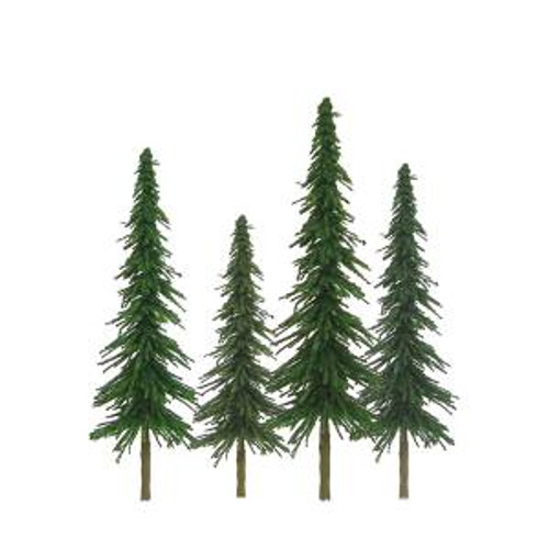 JTT Scenery Products 92027 HO Spruce 4''-6'' Scenic 24 pack
