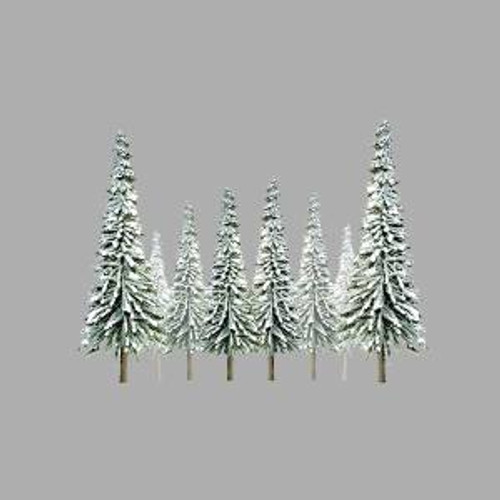 JTT Scenery Products 92007 HO Snow Pine 4''-6'' Scenic 24 pack