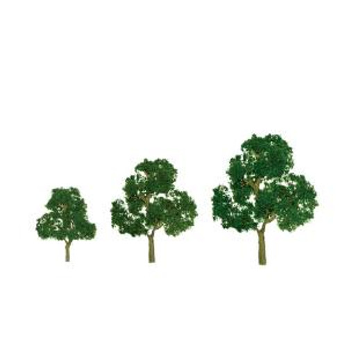JTT Scenery Products 92039 HO Deciduous 3.5''-4'' Premium 2 pack