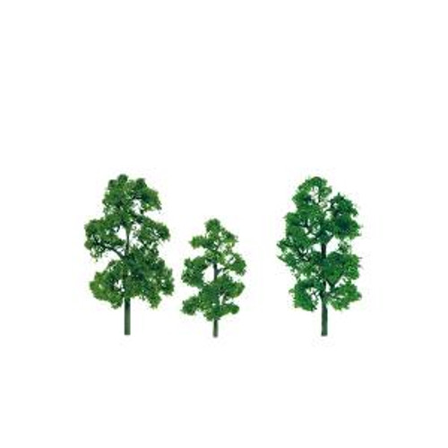 JTT Scenery Products 92043 HO Sycamore 3.5''-4'' Premium 2 pack
