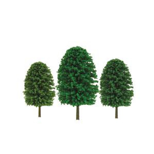 JTT Scenery Products 92036 O Trees 5''-7'' Scenic 12 pack