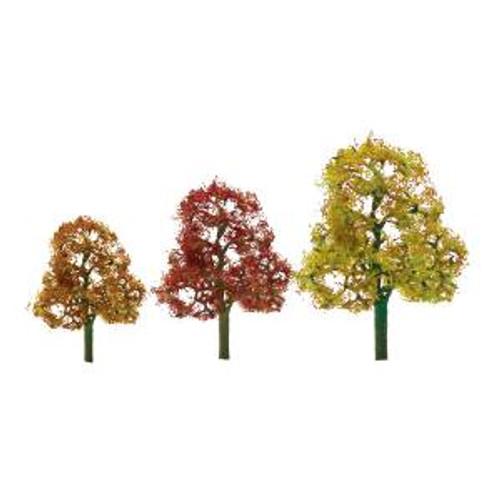 JTT Scenery Products 92061 HO Deciduous Autumn Premium 2 pack