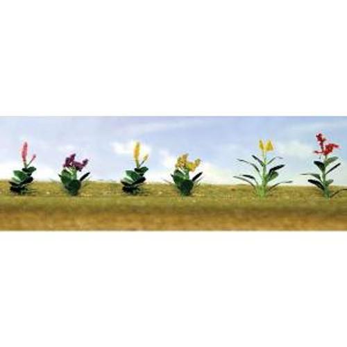 JTT Scenery Products 95563 HO Flower Plants Assortment #4 12 pack