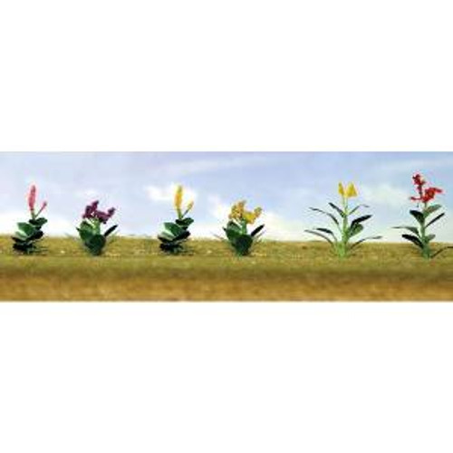 JTT Scenery Products 95564 O Flower Plants Assortment #4 10 pack