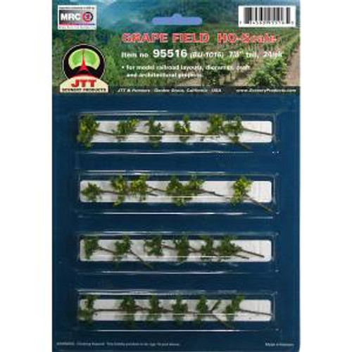 JTT Scenery Products 95516 HO Grape Vines 7/8'' 24 pack